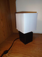 Table lamp  High 12 ½  inches    $10 **