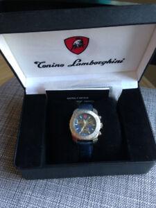Brand New Swiss Movement Gentlemens Chronograph Watch