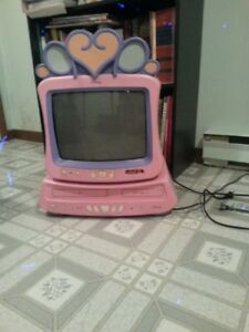 """Disney 13"""" television with dvd"""