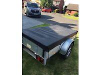indespension 750kg 7x3.5ft camping/gardening trailer