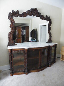 Gorgeous Antique Buffet, Asking Thousands Less Than It's Worth!