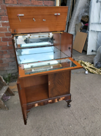 Bureau / Storage unit - Quality Mirrored Interior Bureau / Storage