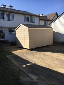 NEW 8 x 8 Portable Shed