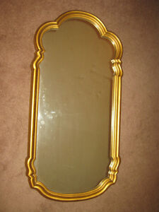 GOLD LEAF WALL MIRROR
