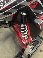 RMK assault front suspension