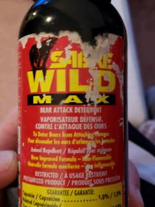 brand new never used bottle of Self defense bear spray
