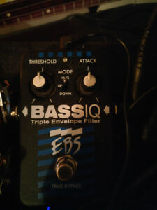 EBS Bass IQ envelope filter