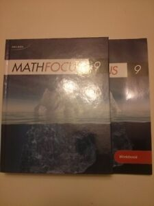 Nelson Math Focus 9 Student Book and Workbook