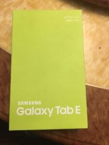 Sealed B NEW Samsung TAB E 8 inch LTE SIM UNLOCKED