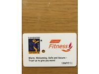 Selling annual Gym Card