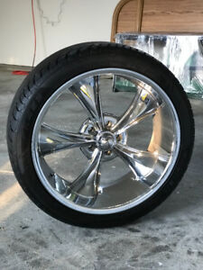 RIDLER CHROME TIRES 215/40ZR18 89Y AND 245/40ZR20 99Y