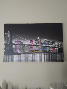 Moving! Selling Canvas Print of City View