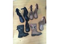 Brand new girls boots sizes 4 and 5