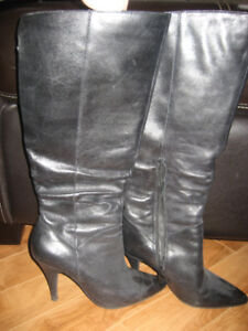 Long Black Boots by Aldo, Price $15