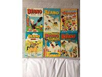 Beano, dandy weezer annuals 1974 onwards