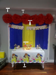 Beauty and the Beast Party decor $30 OBO
