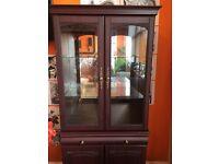 Wooden Storage / Display Cabinet