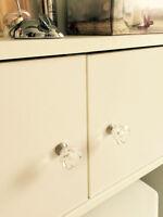 Ensemble de poignées (décoratives) pour armoires