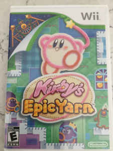 Wii game - Kirby's Epic Yarn