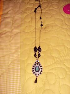 New Black and Blue necklace from Avon. Mother's DAy!