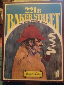 Vintage Board Game Sherlock Holmes