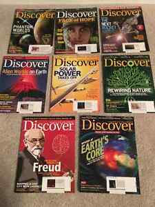 Discover, ID and Canadian Geographic magazines