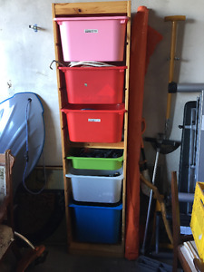 Ikea tall storage cabinet
