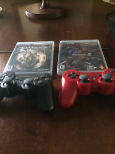 Sony PS3, 3D glasses, games