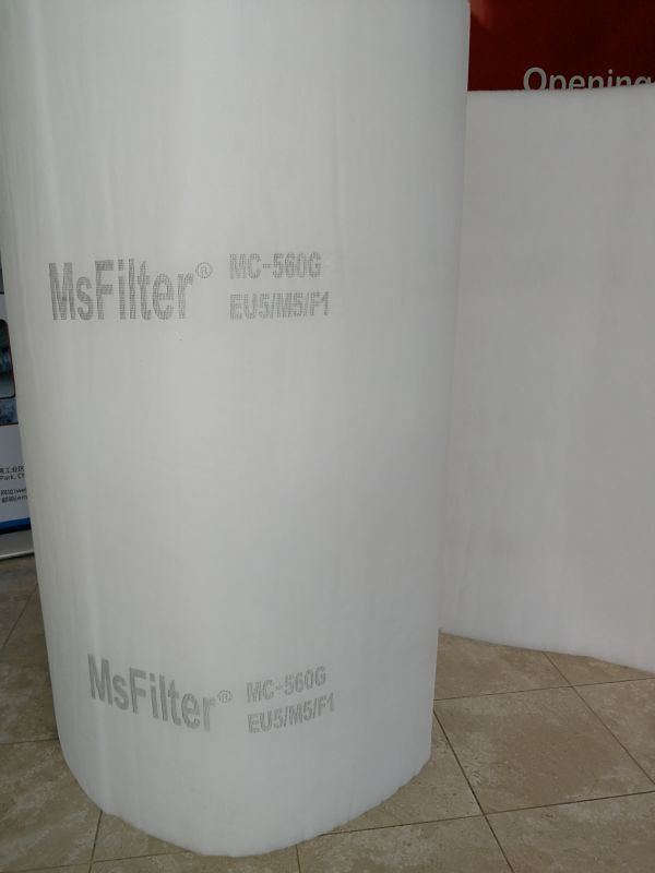 """Msfilter Spray Paint Booth Ceiling Filters 63.5""""x 83"""" (8 Pack) Customized Size"""