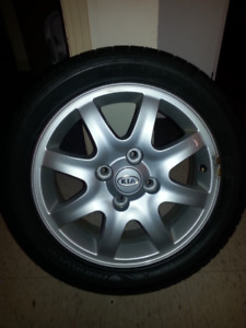 "16"" Factory Aluminum Wheels"