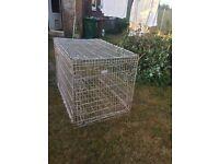 Huge dog cage or tool storage