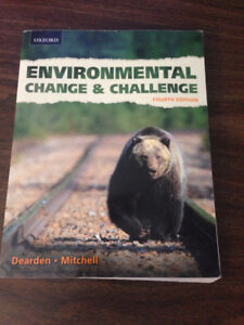 Environmental Change & Challenge: 4th Ed. A Canadian Perspective