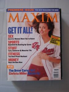 Huge Collection of Maxim Magazines