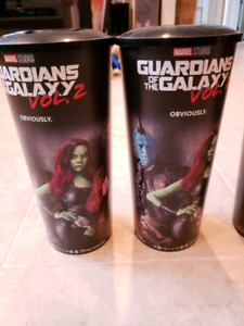 Limited Edition Marvel Cineplex Cups