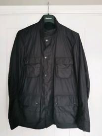 Mens Barbour International Gruff wax jacket