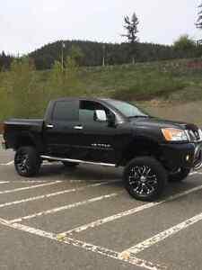 Nissan Titan lifted truck