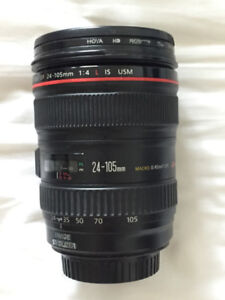 Objectif Canon EF 24–105mm f/4L IS USM