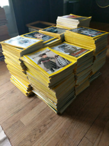 Hundreds of national geographic magazines 1970-nowish