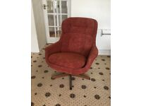 1960's/1970's swivel chair
