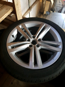 4- wheels and tires 2015 VW jetta