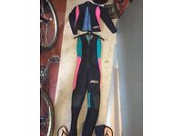 Sola two piece wetsuit ladies/girls