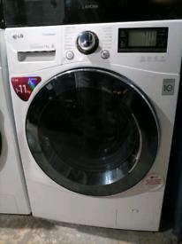 ➡️➡️SALE⬅️⬅️ WHITE 11KG A+++ 1400RPM LG WASHING MACHINE