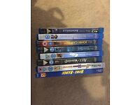 8 Disney Blu-Rays