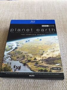 BLU-RAY! PLANET EARTH COMPLETE SERIES