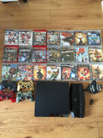 PLAYSTATION 3 160GB PLUS ACCESSORIES AND GAMES FOR SALE