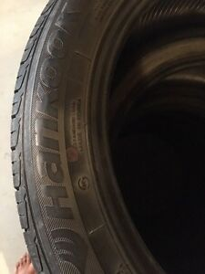 17 inch hankook tires almost new