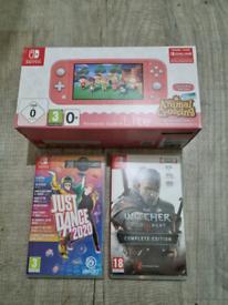 Nintendo switch lite 2 games