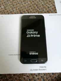 Samsung galaxy J3 PRIME 2017, 16gb unlocked