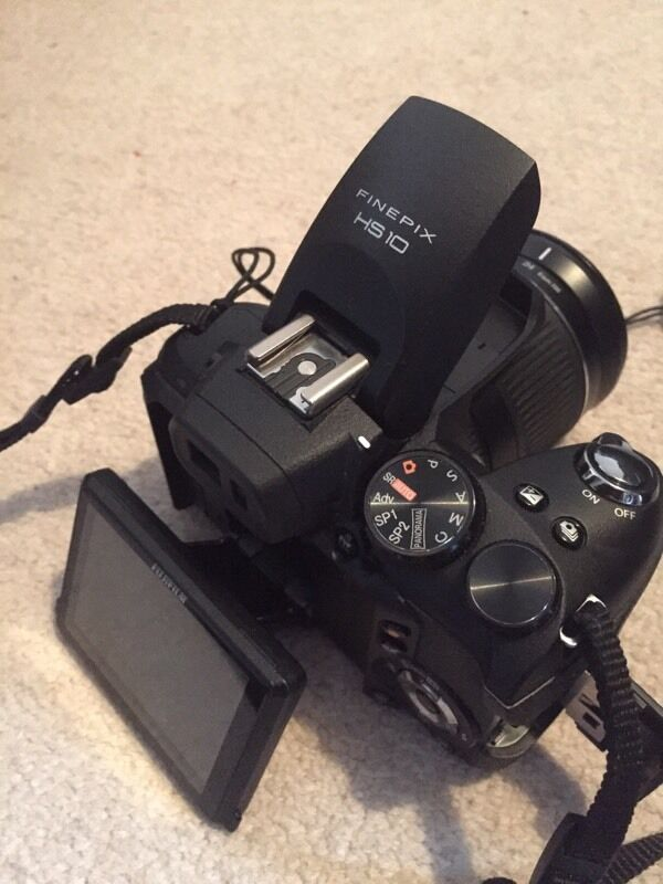 Fuji Hs10 30x Zoom Digital Bridge Camera Fujifilm Finepix Dslr