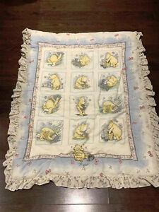 Disney Winnie the Pooh Crib/Baby blanket